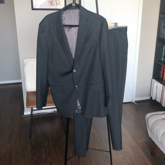 Suit Supply Other - Dark Gray Men's Wool Suit - Jacket and Pants